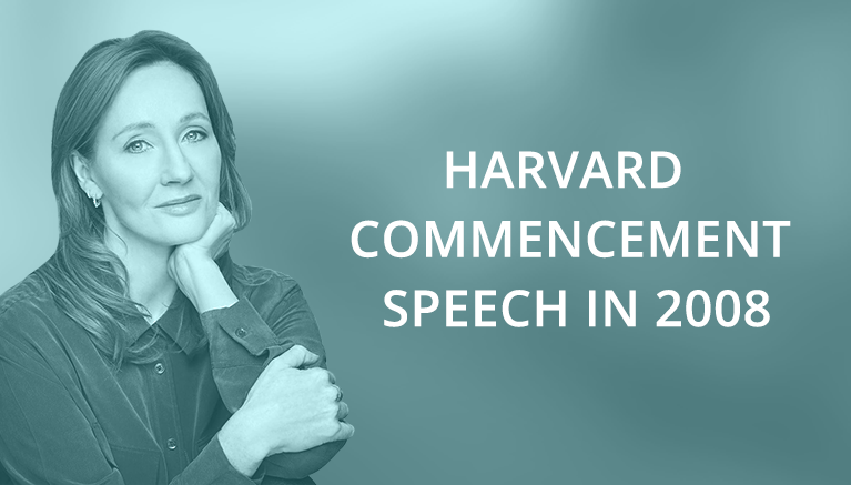 Джоан Роулинг и ее Harvard Commencement Speech